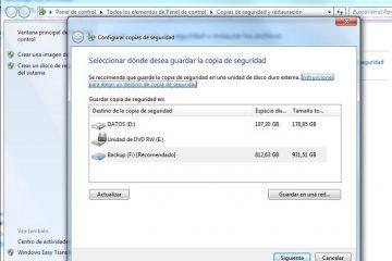 Faça cópias de backup no Windows 7 sem instalar nenhum aplicativo