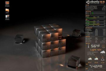 Mostre todas as informações do seu computador na área de trabalho do Linux
