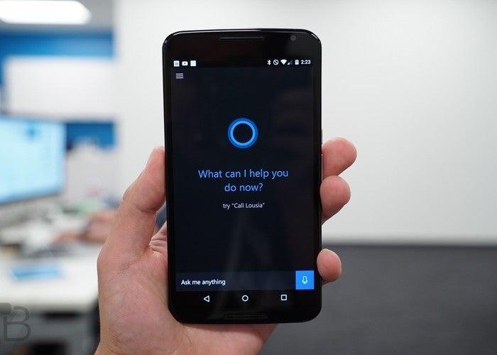 Cortana no Google Play