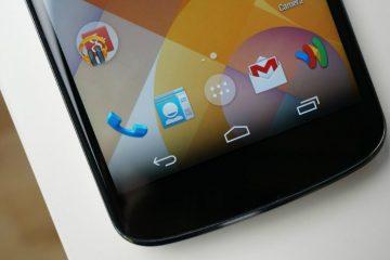 Mude a aparência da barra de navegação no seu Android