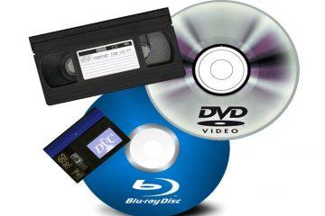 Converta vários DVDs para um Blu-ray do Windows 10