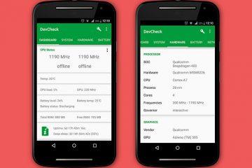 Conheça todas as informações do seu Android com DevCheck