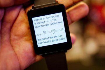 Veja todos os tipos de documentos no seu Android Wear