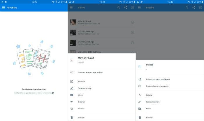 Captura do Dropbox