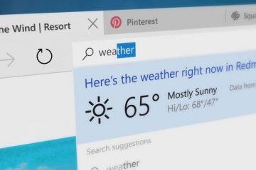 Saiba como redefinir o navegador Windows 10 Edge
