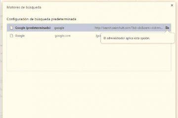 """Corrija o problema """"O administrador aplica esta opção"""" no Google Chrome"""