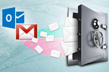 Armazene todos os seus emails e nunca os perca