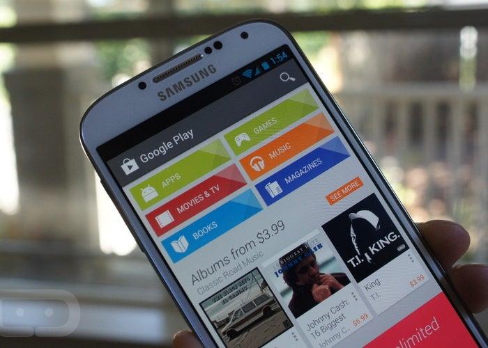 Falha na autenticação do Google Play