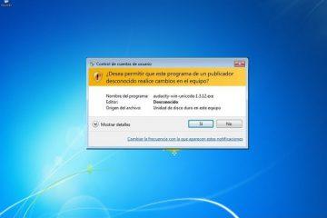 Impedir que o Windows solicite confirmação para cada alteração ou configuração
