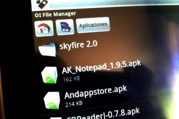 Onde os aplicativos apk estão instalados?