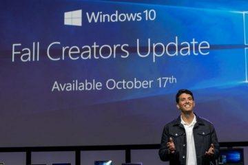 Instale a atualização Fall Creators para Windows 10 agora