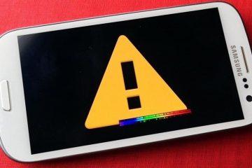 O que fazer se um aplicativo falhar no Android