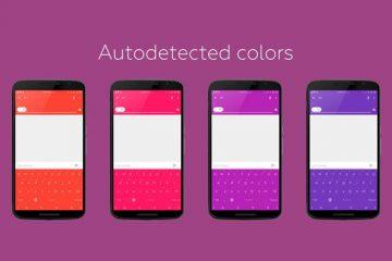 Pinte o teclado de acordo com a cor do aplicativo com o Xposed