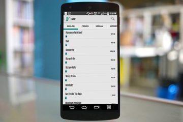Fonter, um novo módulo para alterar a fonte do seu Android