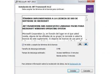 Baixe a versão mais recente do .NET Framework na versão offline