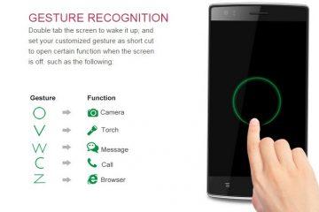 Realize ações usando gestos no seu dispositivo Ubuntu