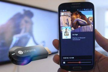 Faça o download de todos os fundos do Google Chromecast no seu Android