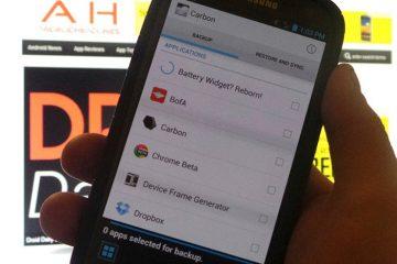 Backups para Android sem root com Helium