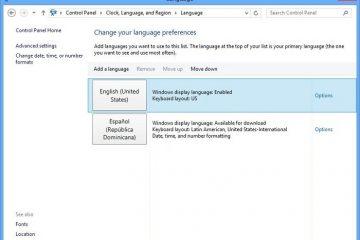 Como corrigir problemas com pacotes de idiomas no Windows 8 / 8.1