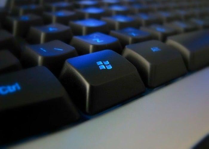 Tecla Windows no teclado convencional