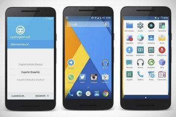 Instale o iniciador CyanogenMod no seu Android com o AOSP Launcher