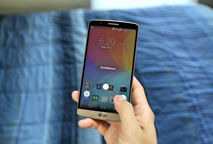 LG G3 Captura de tela