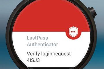 Use autenticação de dois fatores com o LastPass Authenticator