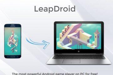 Leapdroid, um novo emulador Android para PC muito interessante