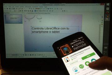 Controle o LibreOffice do seu Android