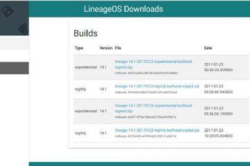 Agora você pode baixar o LineageOS oficial no site!