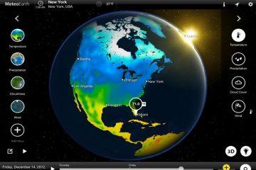 Descubra as informações meteorológicas do planeta como nunca antes