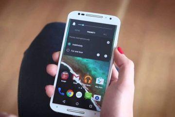 Ative o modo silencioso no Android 5.0 Lollipop facilmente