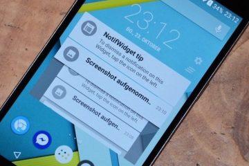 Coloque suas notificações em um widget para tê-las onde quiser
