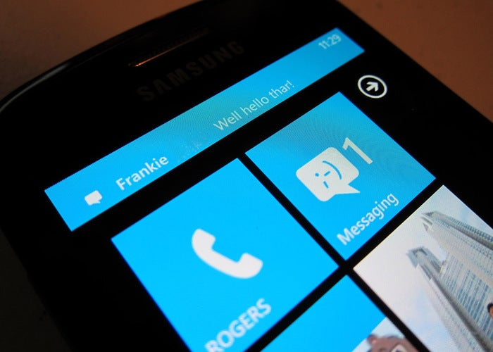 Receba notificações do Windows Phone