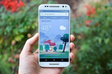 Obtenha a nova interface meteorológica do Google agora
