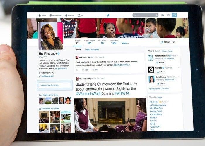 Ativar novos perfis do Twitter