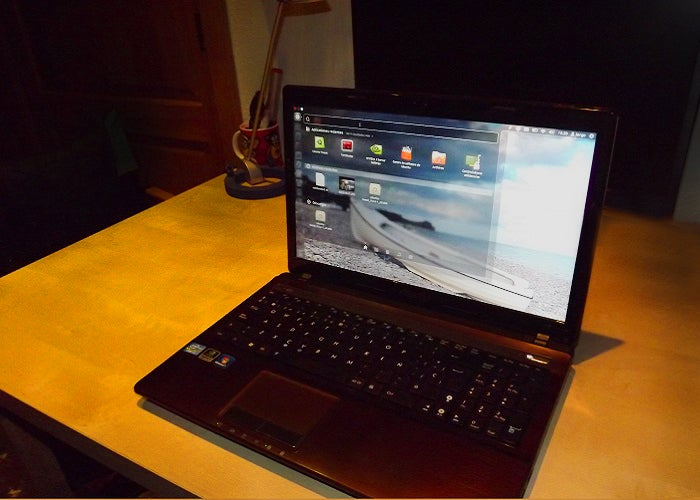 Laptop com Linux Ubuntu