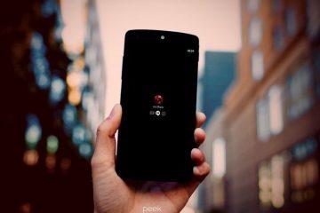 Espreitar, as notificações ativas do Android Paranoid na tela de bloqueio