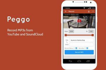 Peggo, ouça músicas do SoundCloud e do YouTube off-line