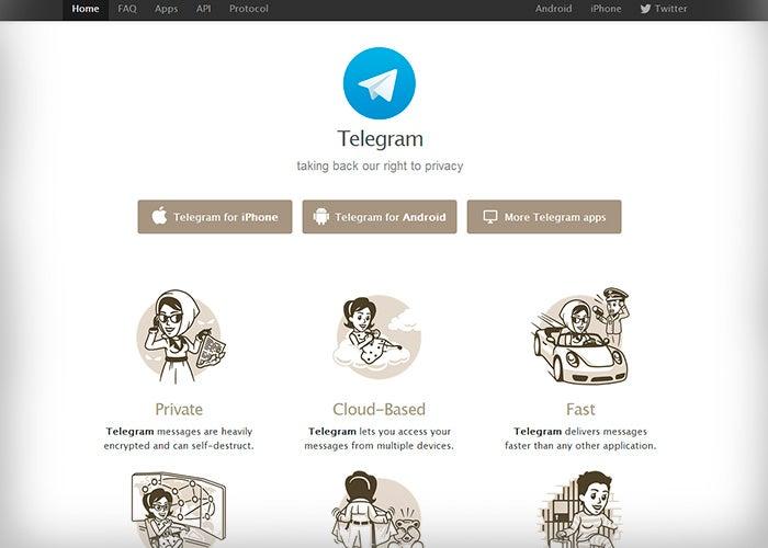 Cobertura de telegrama