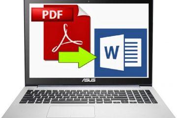 Converte PDF para Word, imagem, texto ou HTML com este aplicativo gratuito