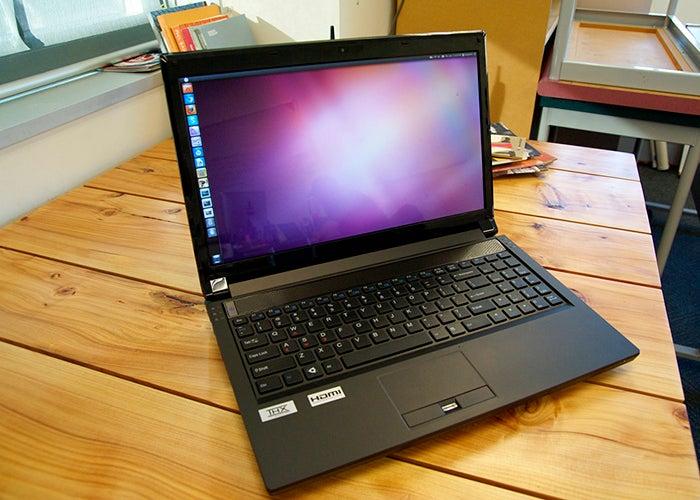 Notebook com ubuntu
