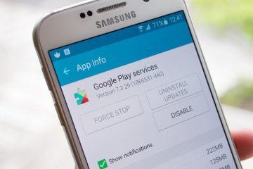 Evite o consumo excessivo de bateria do Google Play Services