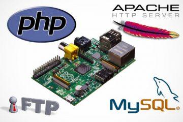 Como criar um servidor Web completo com Raspberry Pi