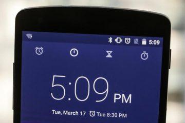 O aplicativo de relógio Android nativo agora disponível para todos