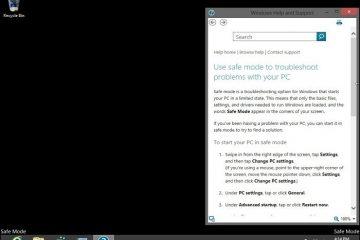 Configure o botão F8 para iniciar o Windows 8 / 8.1 no modo de segurança