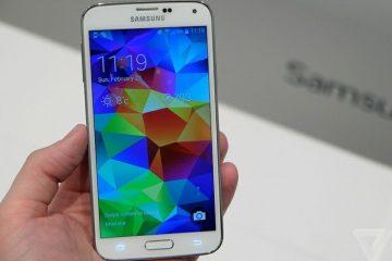 Instale uma porta Samsung Galaxy Note 4 no Samsung Galaxy S5