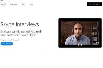 O Skype adiciona um editor de código para entrevistar programadores