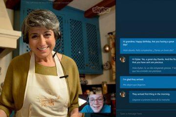 Traduzir chamadas do Skype e videochamadas enquanto você fala