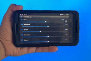 Gerencie suas configurações de áudio com o Smart Volume Controller +